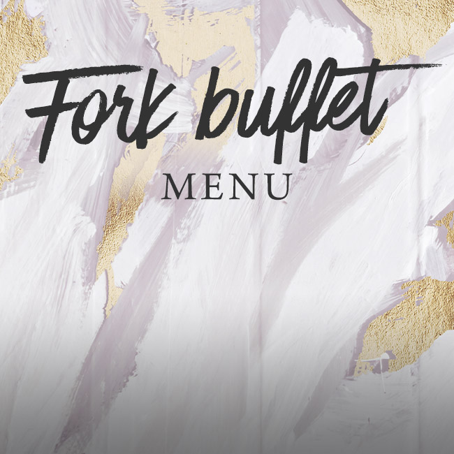 Fork buffet menu at The Arkley