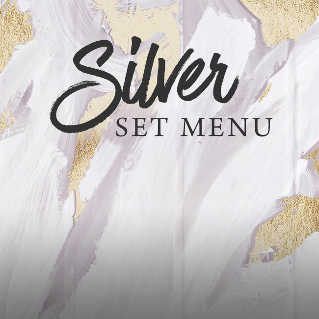Silver set menu at The Arkley