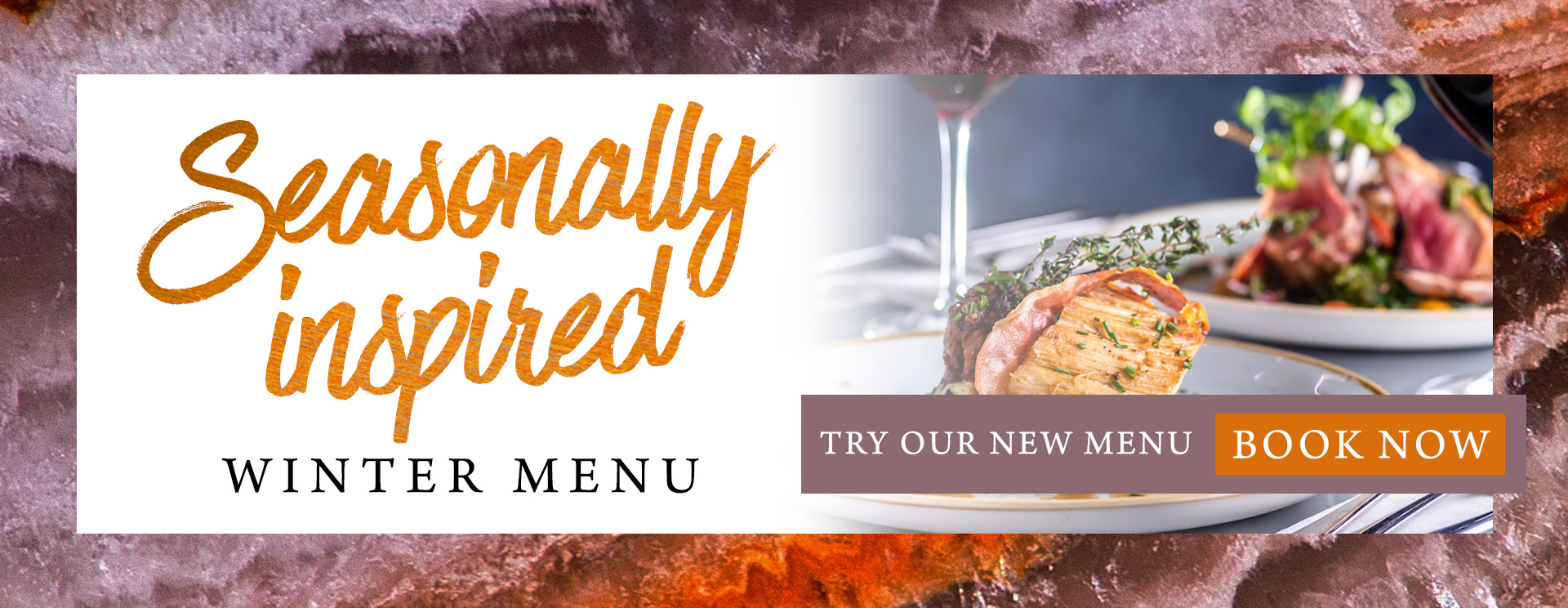 Our new winter menu at The Arkley